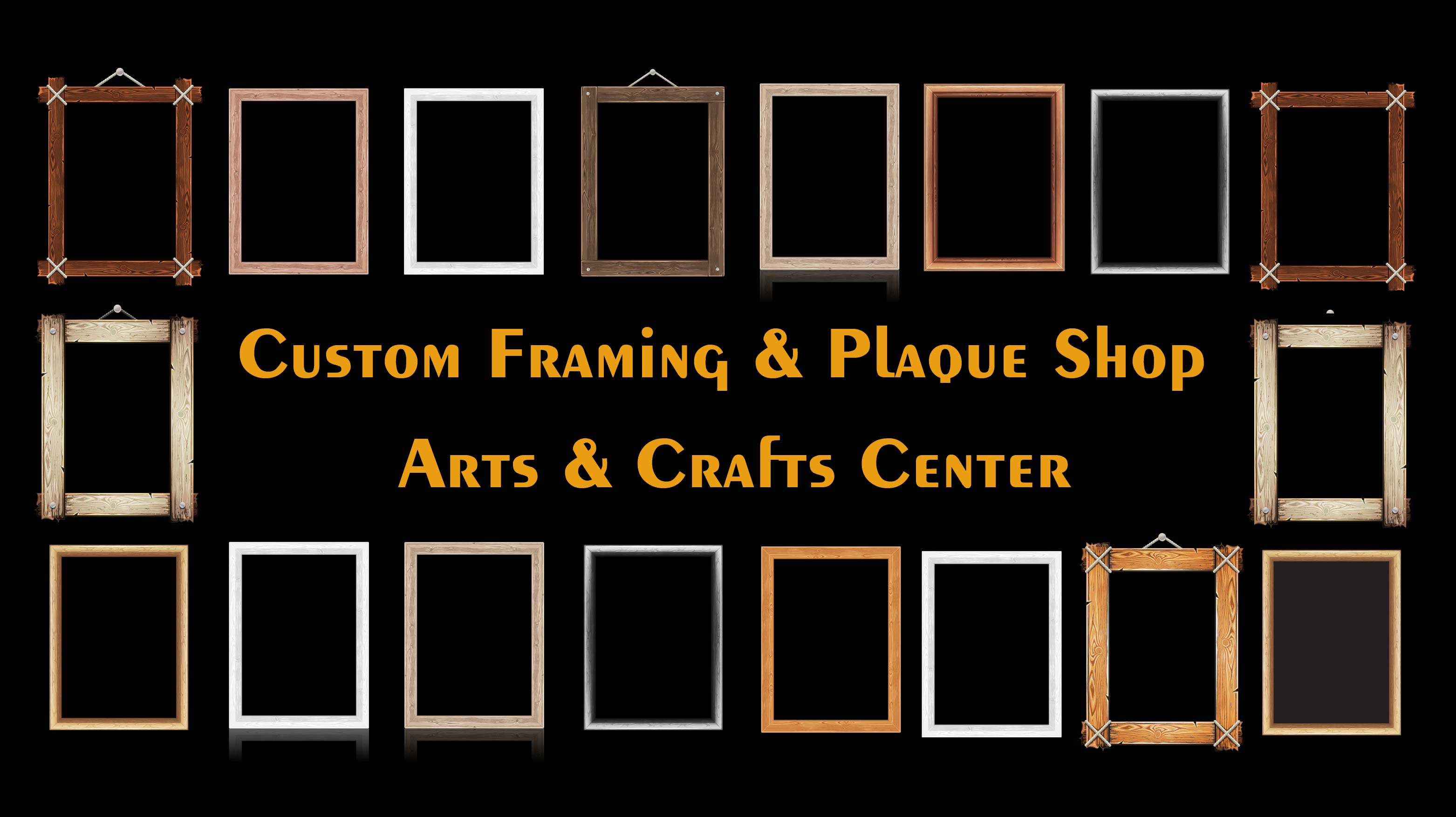 Custom Framing and Plaque Shop
