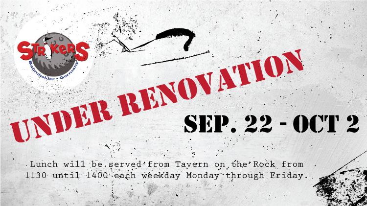 Strikers Under Renovation