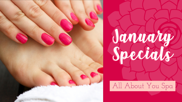 All About You Spa January Specials