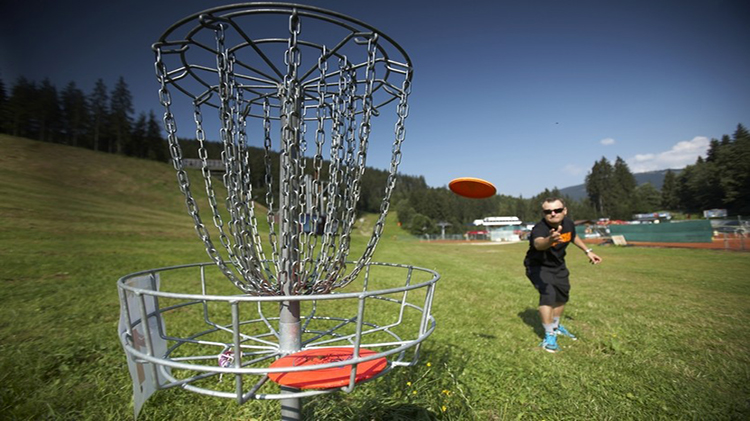Disc Golf Available