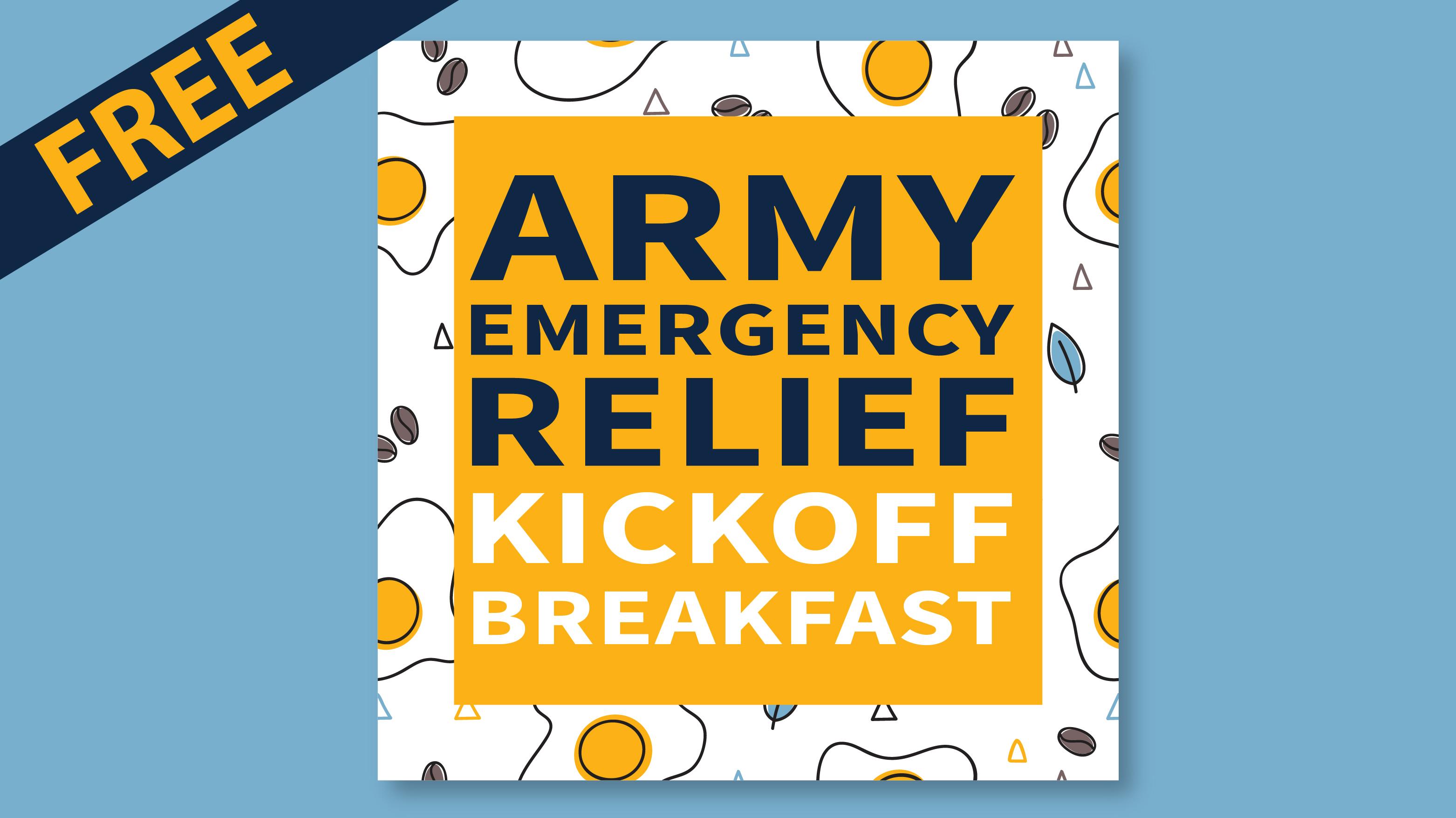 Army Emergency Relief Kick-off Breakfast