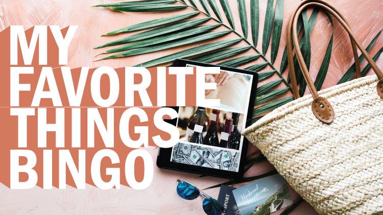 My Favorite Things Bingo