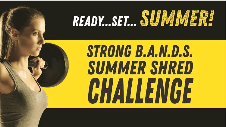 Summer Shred Challenge Kick-Off