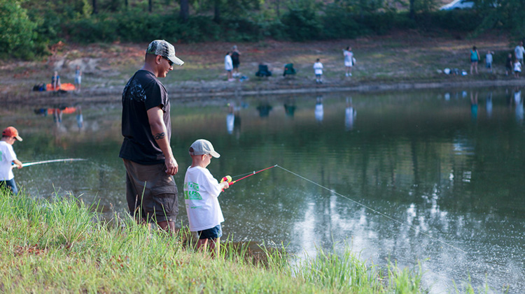 Father's Day Fishing and Camping Weekend