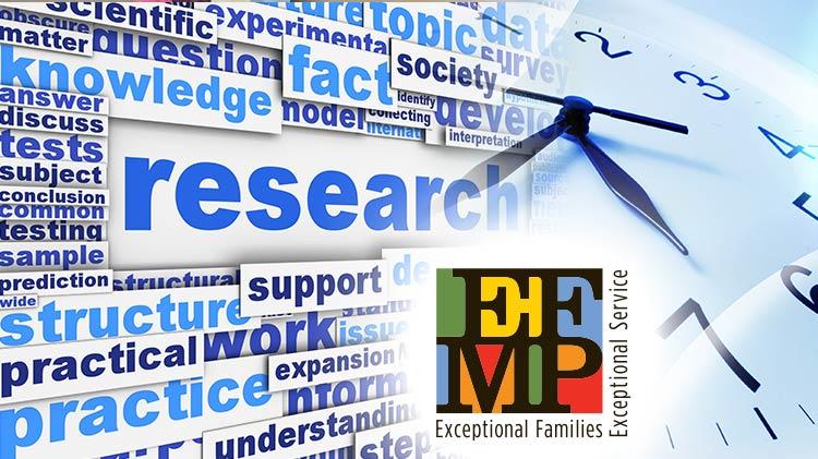 EFMP Spectrum Families