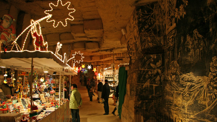 Valkenburg Caves Christmas Market