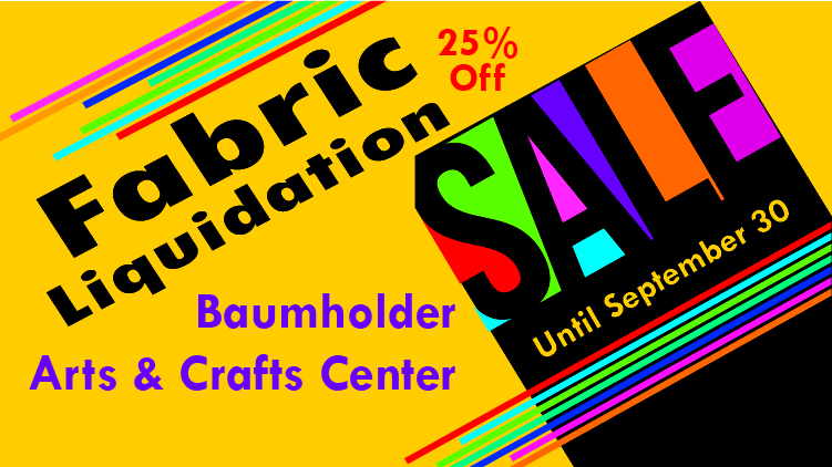 Fabric Liquidation Sale
