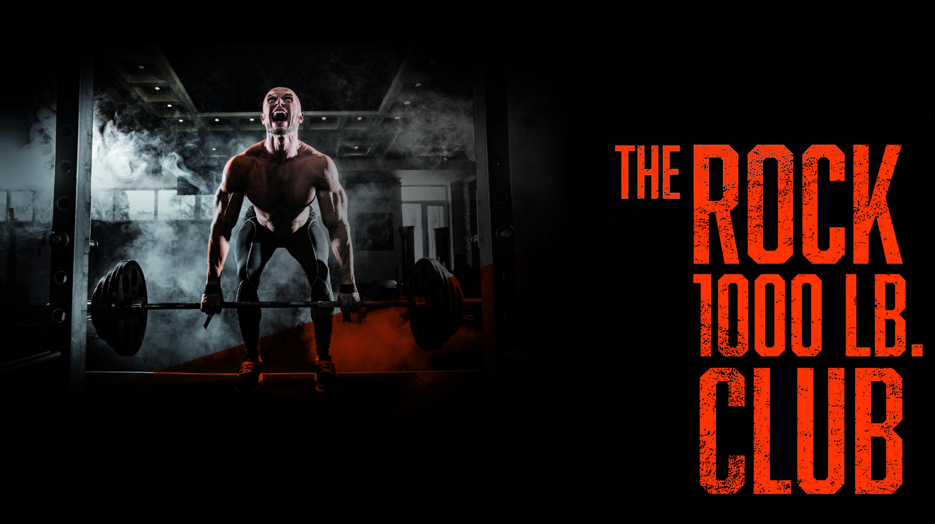The Rock 1000 lb. Club