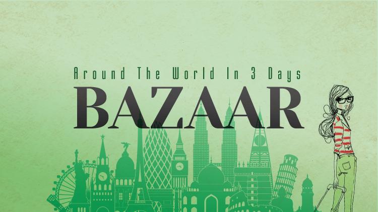 Around the World In 3 Days - Bazaar