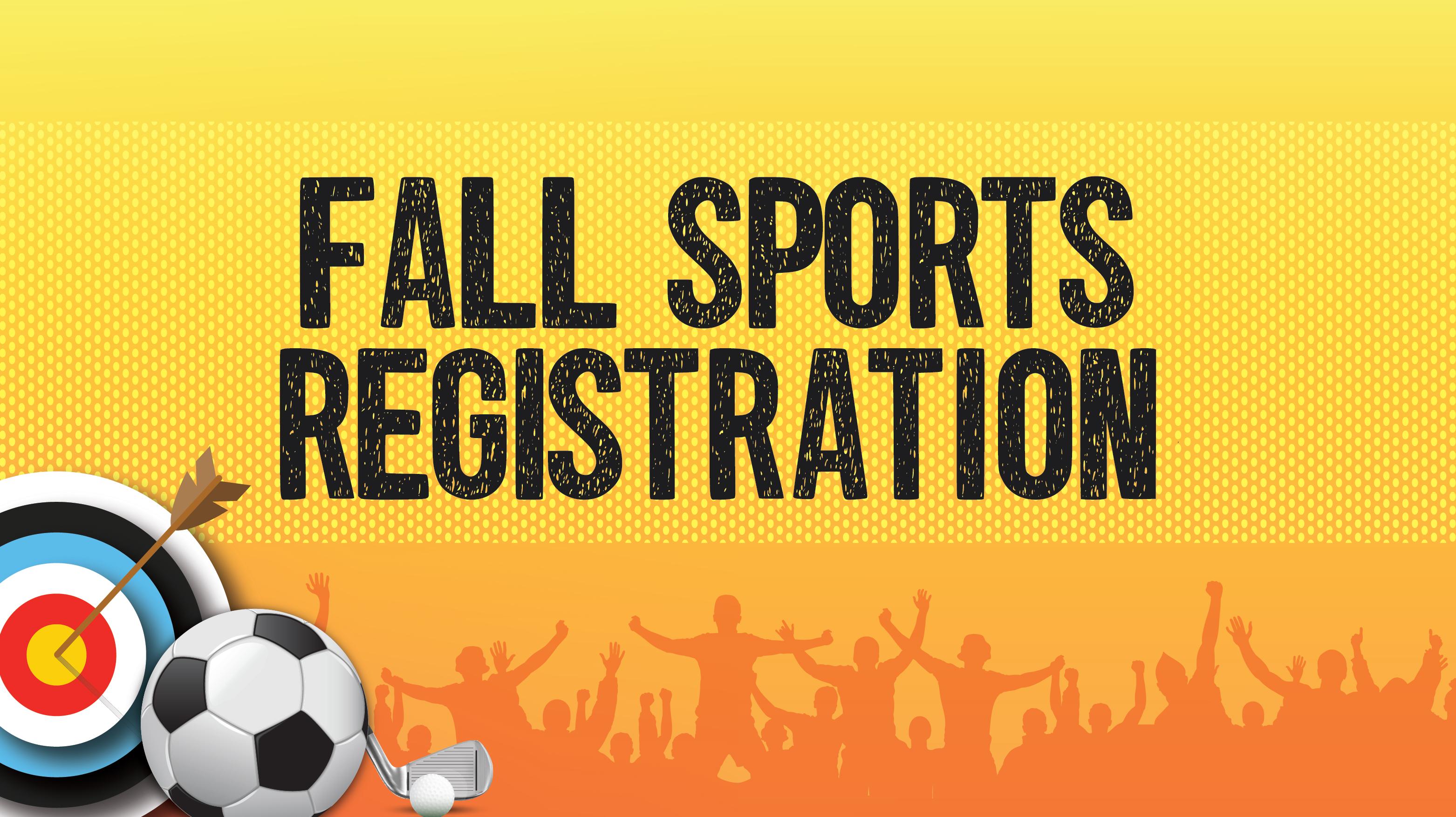 Fall Sports Registration 2020