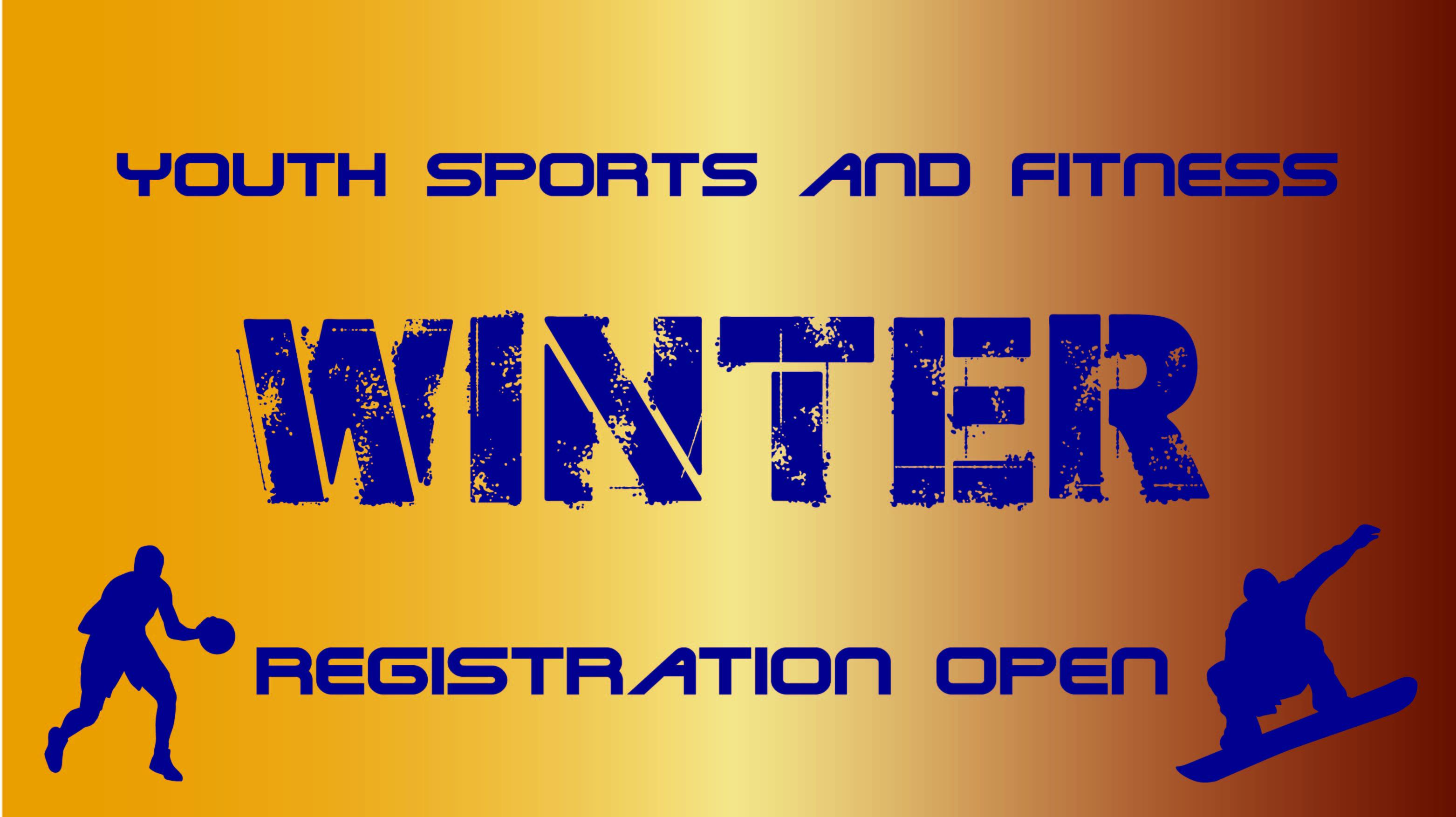 Winter Youth Sport Registration Open Oct. 1-Nov.15