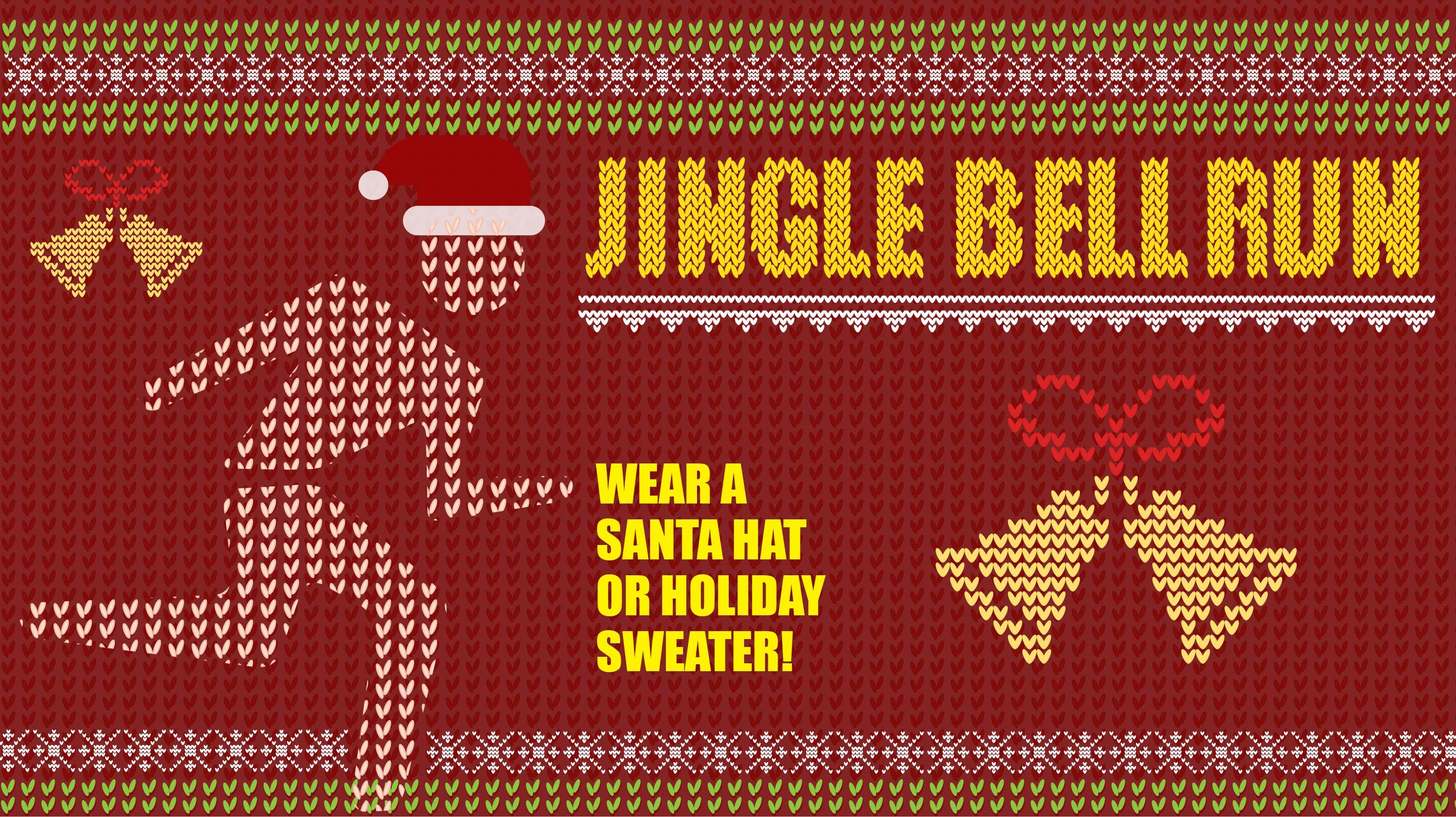 """Jingle Bell """"The Rock"""" 5k Fun Run"""