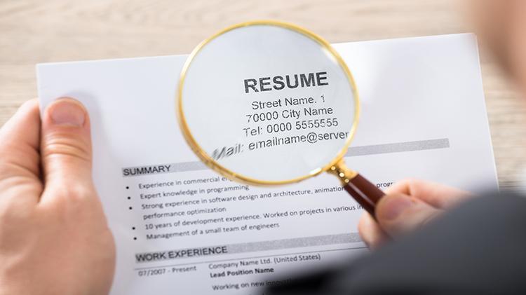 Advanced Resume/Federal Resume (SFL-TAP)