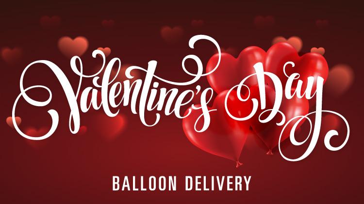 Valentine's Day Balloon Deliveries
