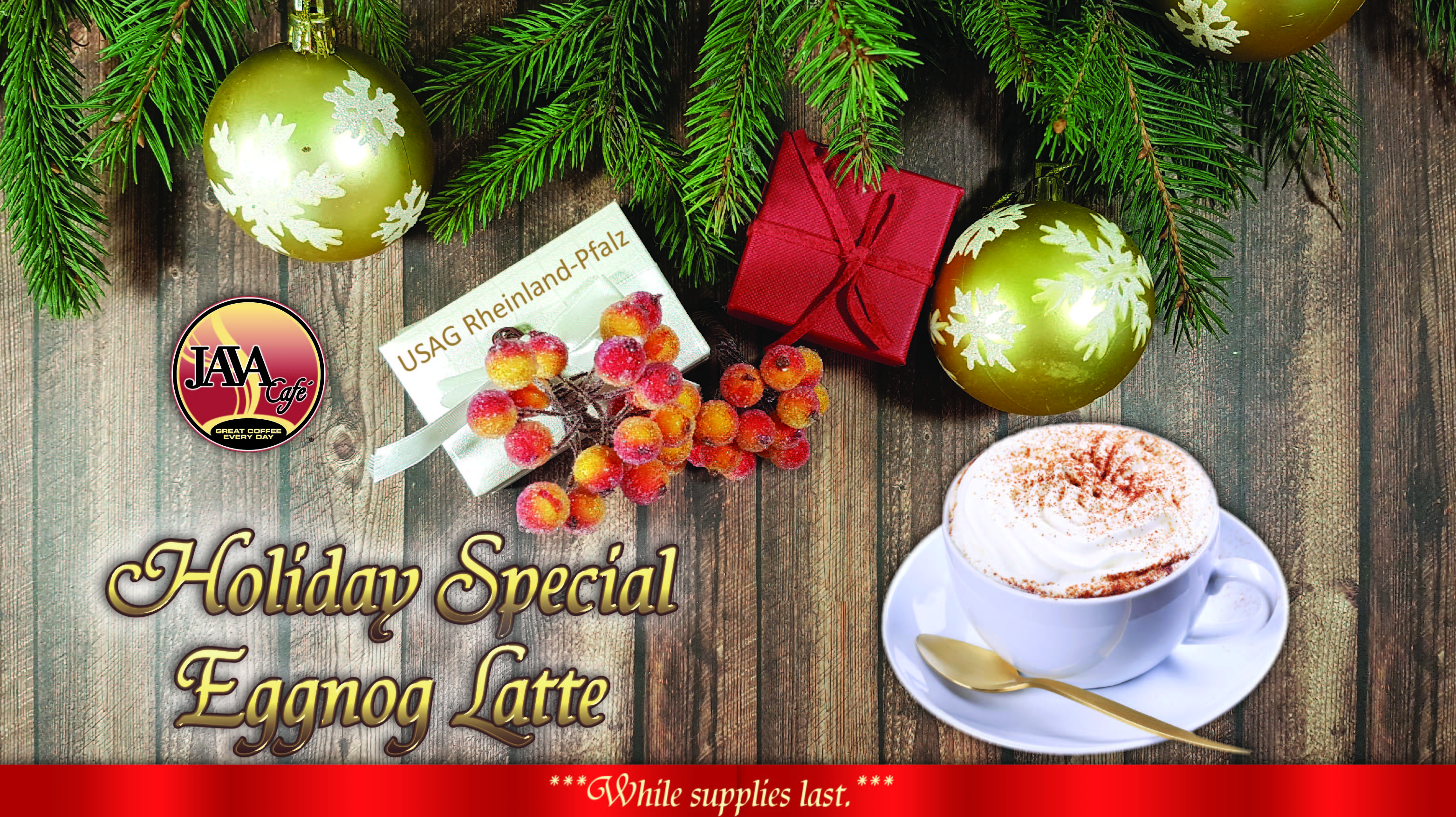 Java Cafe Holiday Special