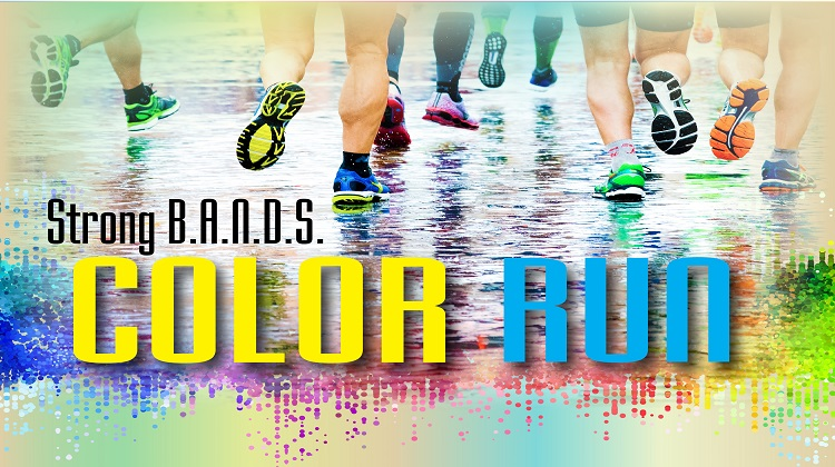 Strong B.A.N.D.S. Color Run
